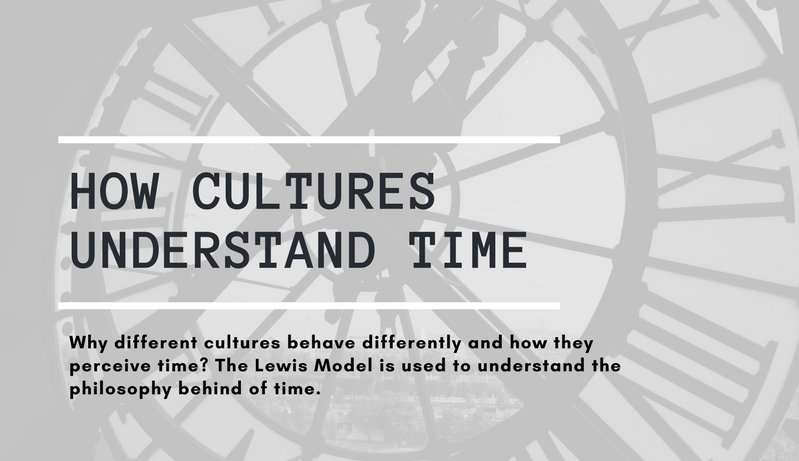 How Cultures Experience Time